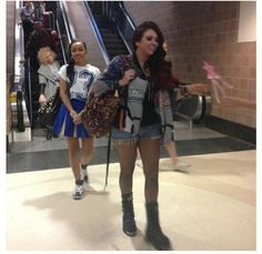 Little Mix at the Greenville Airport!