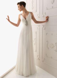 Elegant // Beach Wedding Dress
