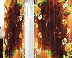 Купить комплект штор ШОКОЛАД 145х270 (2шт) от производителя Валентина (Россия)