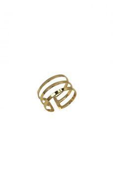 3 Band Ring Gold | ZipMeUp - Online Luxury Fashion