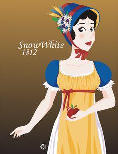 DisneyHistoricDress-Snow White by NoriChama.deviantart.com