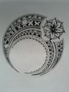 hawaiian tribal drawing - Google Search