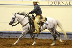 Striding Right in Ranch Horse Pleasure - Try these 10 tips for lengthening and collecting your horse's stride at the walk, trot and lope in the AQHA ranch horse pleasure class.