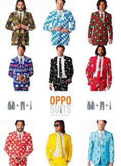 OppoSuits knallende kleuren en spectaculaire designs.