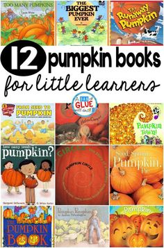 Superstars Which Are Helping Individuals Overseas Our 12 Favorite Pumpkin Books Are The Perfect Addition For Your Fall Lesson Plans. These Are Great For Preschool, Kindergarten, Or First Grade Students. Fall Preschool, Preschool Books, Preschool Lessons, Book Activities, Preschool Activities, October Preschool Themes, Holiday Activities, Activity Ideas, Craft Ideas
