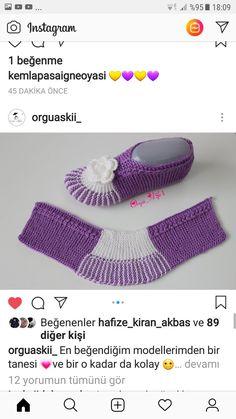 Crochet Socks, Free Crochet, Knit Crochet, Elf Slippers, Knitted Slippers, Knitting Designs, Knitting Patterns, Crochet Patterns, Garter Stitch