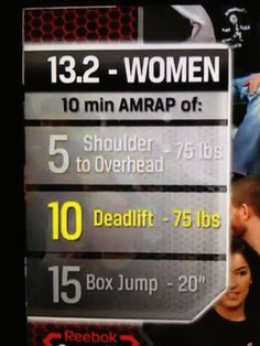 Open Workout 13.2...Happening Today!!