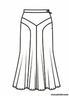 free pattern, pattern sewing, юбка, выкройка юбки, выкройки скачать, cкачать, шитье, готовые выкройки, выкройки бесплатно