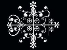 Ritual Symbols of the Voudou Spirits: Voudou Veves