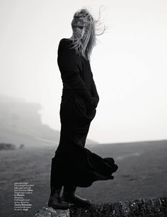 thedoppelganger:    Magazine: AnOther Fall/Winter 2008Photographer: Willy VanderperreModel: Natasha Poly