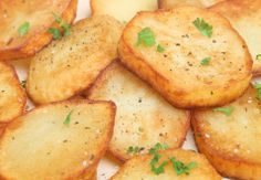 Salt and Vinegar Fingerling Potato Coins These are a tangy, fun treat ...