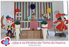 Pedro e os piratas da terra do nunca - a festa pronta