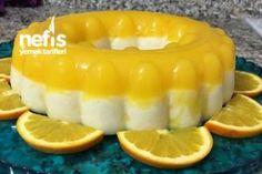 Portakallı İrmik Tatlısı – Nefis Yemek Tarifleri