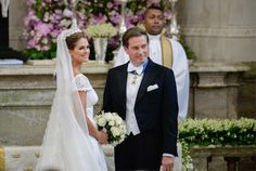 On Saturday 8 June 2013, Princess Madeleine and Mr. Christopher O'Neill were married in the Royal Chapel at the Royal Palace of Stockholm.