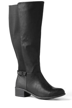 Wide-Calf Boots That Really Fit #WideCalfBoots #boots