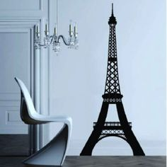 Eiffel Tower Decal by Interiorinstyle