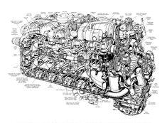 Napier Sabre engine by way of Sobchak Security