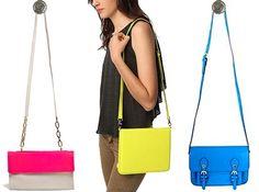neon satchels for summer