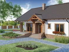 Home Fashion, Traditional House, Garden Art, Gazebo, Outdoor Structures, House Design, House Styles, Cabins, Home Decor