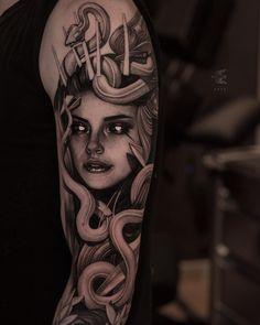 Dope Tattoos, Forearm Tattoos, Unique Tattoos, Body Art Tattoos, Hand Tattoos, Tattoos For Guys, Tattoos For Women, Black Line Tattoo, Dark Tattoo