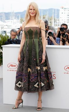 Best Dressed Stars on Cannes Red Carpet 2017 - Nicole Kidman in a Dior Haute Couture dress