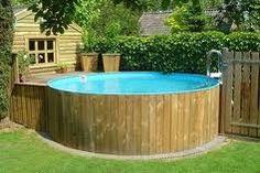 terras rond opbouw zwembad - Google zoeken