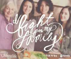 I fight for my family