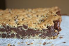 Gooey Chocolate Chip Sandwich Bars 3