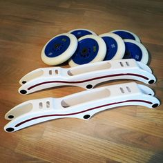 "Let the testing begin! EO Custom carbon frames. 13.4"" Extra stiff 2.5mm lower 3x125. BIG thanks to Dan and Fred at EO. #letsgofaster #inlinespeedskating #sk8skoolonline #personalcoaching #speedskatinginline #inline #inlineskate"