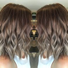 Cool brown Balayage More