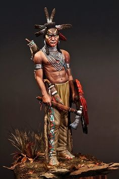 Black Foot Indian