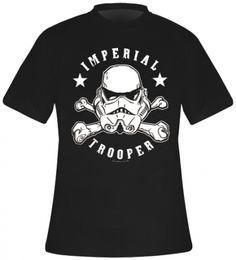 T-Shirt Mec STAR WARS - Imperial Stormtrooper