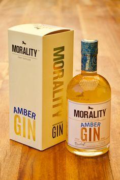 Barrel Casked Morality Gin, one of our favourites by Black Horse Distillery. Morality, Distillery, Gin, Vodka Bottle, Barrel, Amber, Horse, Drinks, Black
