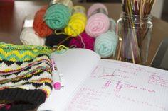 Costumfitted sokker, del 1 af 4, sådan tager du mål til en sok - Woolspire KAL | Woolspire