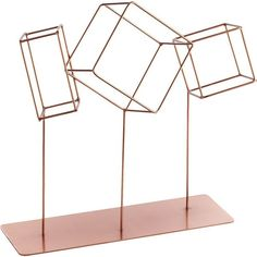 CB2 Rolling Cube Sculpture ($25) ❤ liked on Polyvore featuring home, home decor, geometric sculpture, cb2 and cube sculpture