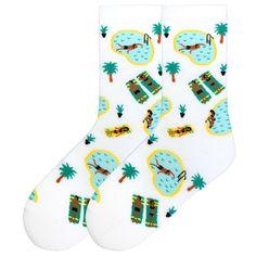 The Joy of Socks - Poolside Socks (Women's), $7.75 (http://www.joyofsocks.com/poolside-socks-womens/)
