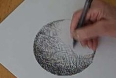 Pen and Ink Shading - A Circle To A Sphere - Video Lessons of Drawing & Painting