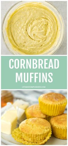 Sweet and Savory cornbread muffins that are simple and so tasty! They are perfectly paired with any soup or chili and are a must-have for fall! #cornbreadmuffins #cornbread #muffins #cornbreadrecipe Best Homemade Bread Recipe, Homemade Banana Bread, Favorite Chili Recipe, Favorite Recipes, Easy Delicious Recipes, Tasty, Sweet Cornbread Muffins, Sweet Breakfast, Brunch Recipes