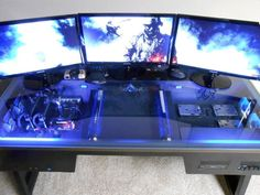 ultimate pc and server battlestation | consoles, desks and gaming