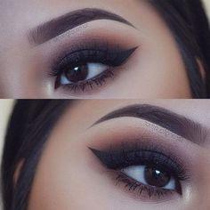 The Perfect Smokey Eye Makeup for Your Eye Shape ★ See more: http://glaminati.com/smokey-eye-makeup-eye-shape/