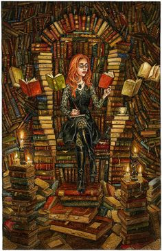 Print. The Word Witch by davidwyatt on Etsy, £12.00