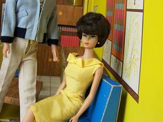 Bubble Cut Barbie...EEK!! Forget Ken, she's ready for Don Draper!