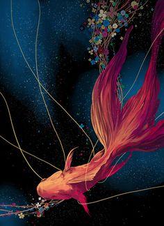enoqi:  Goldfish — by慢半拍
