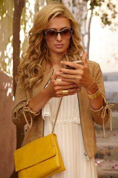 Los 7días/7looks de Paris Hilton © Isaac Morell / Realización: Ana Antic / Peluquería: Leonardo Colletta / Maquillaje: Ana Pérez