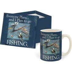 Fishing Mug Gift Box Everyone Plans And I Plan To Go Fishing By Carson