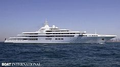 """Dubai 162m (531'6"""") Originally commissioned by Prince Jefri of Brunei, the project was suspended in 1998 with just the bare hull and partially complete superstructure. It was eventually sold to the Dubai government, and is now the royal yacht of Sheik Mohammed bin Rashid al-Maktoum."""