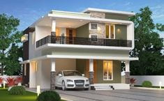 Find all independent house at Ottapalam. We offer the highest quality of 4 BHK independent house in Ottapalam, Palakkad with all modern amenities. 3 Storey House Design, House Roof Design, House Outside Design, Simple House Design, Bungalow House Design, Modern Home Design, Modern Exterior House Designs, Indian House Exterior Design, Model House Plan