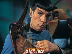 Star Trek: The Original Series, Spock Playing a Stringed Instrument