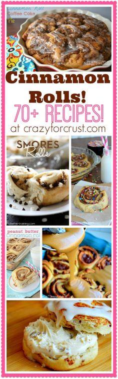 Over 70 Cinnamon Roll Recipes