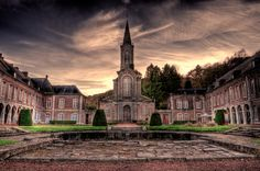 Abbaye d'Aulne HDR novembre 2014